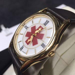 Caravelle by Bulova medic alert watch